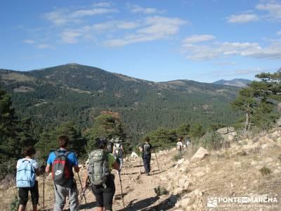 Abantos y Cuerda Escurialense;pueblos de madrid con encanto calzado trekking sierra norte de madrid